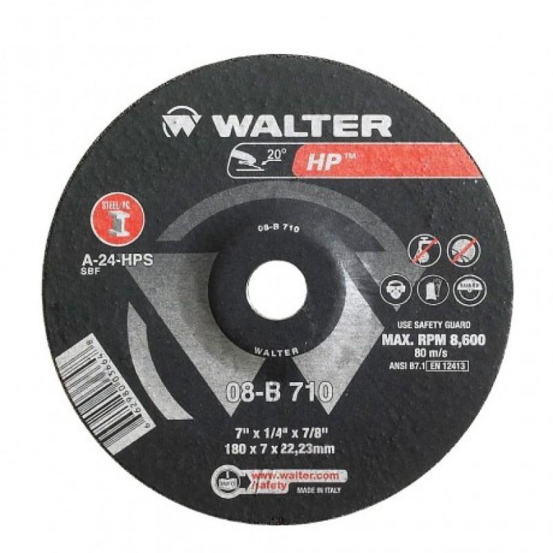 Walter disco de desbaste HP - 4 1/2x1/4x7/8