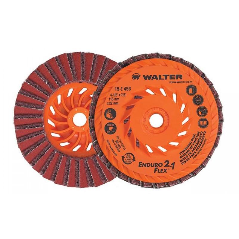 Walter disco acab 2 em 1 - Enduro flex - 4.1/2x7/8 xm -14